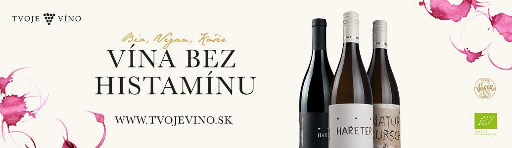 Certifikovaný eshop Vína bez histamínu - Tvojevino.sk